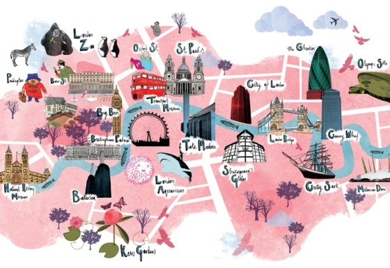 cute-london-tourist-map