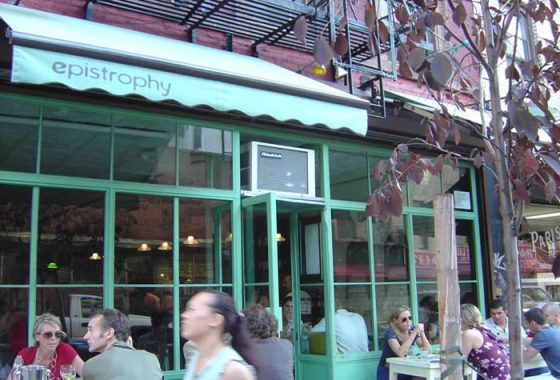 Epistrophy Nolita NYC restaurant cafe