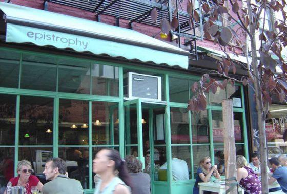 Epistrophy Nolita NYC restaurant cafe