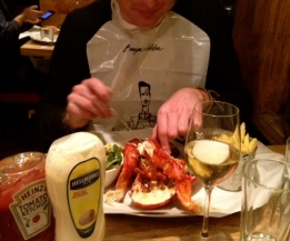 fred burger and lobster