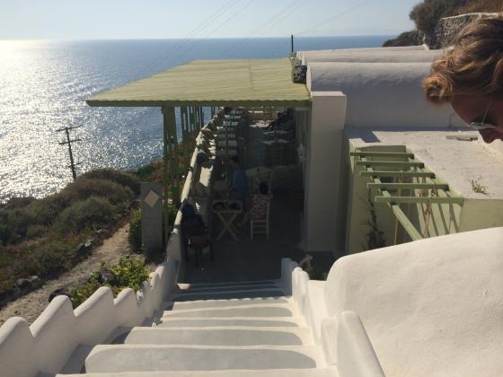 Kartharos Beach Greece santorini