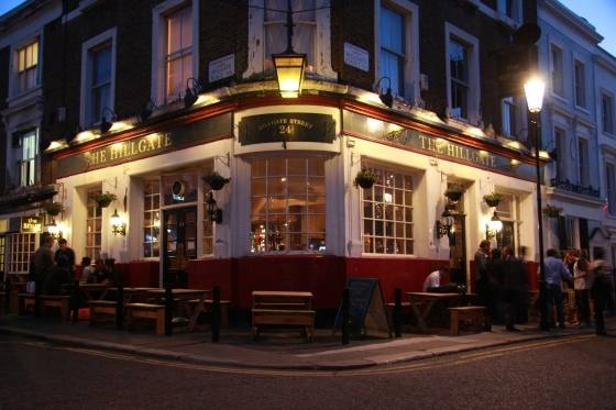 The Hillgate Pub Notting Hill London