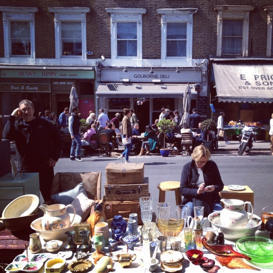 Golborne Road London Notting Hill Golborne Deli