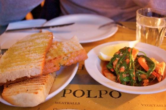 Polpo restaurant Notting Hill