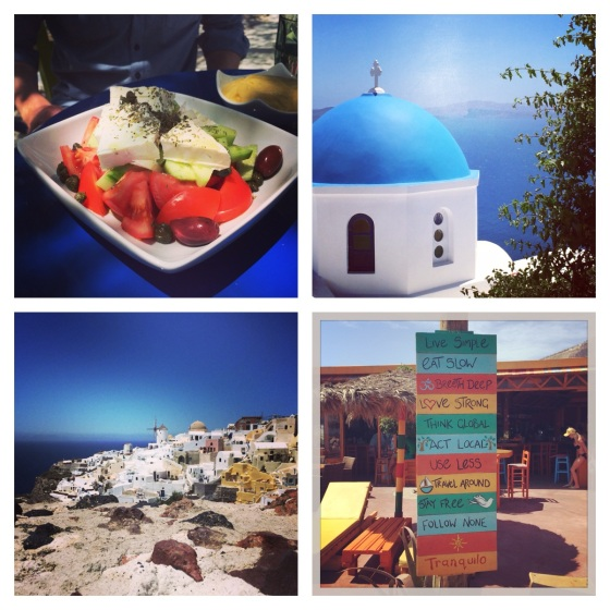 santorini holiday greek salad