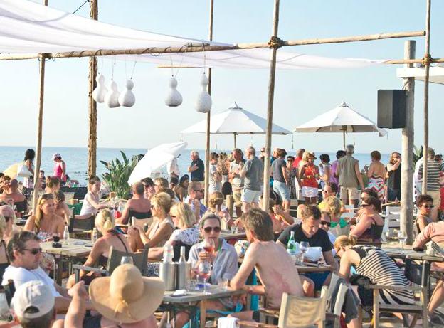 beach club de branding | noordwijk, the netherlands | our little