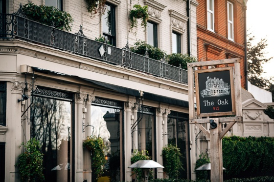 The Oak W12 London Ravenscourt Park restaurant