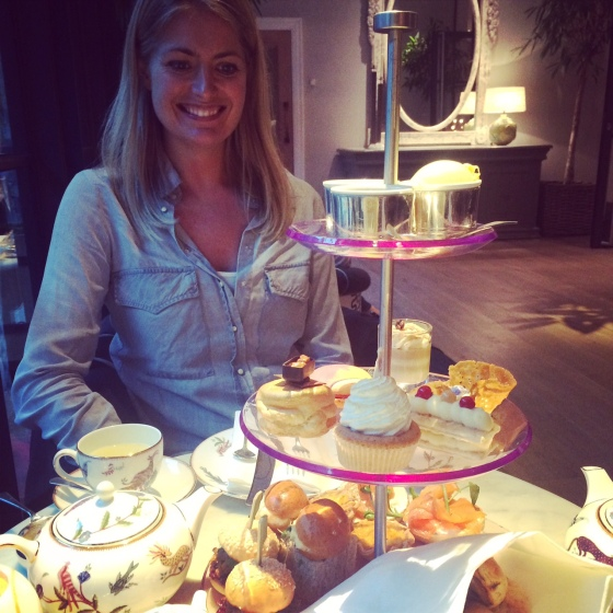 High tea Hamyard Hotel London