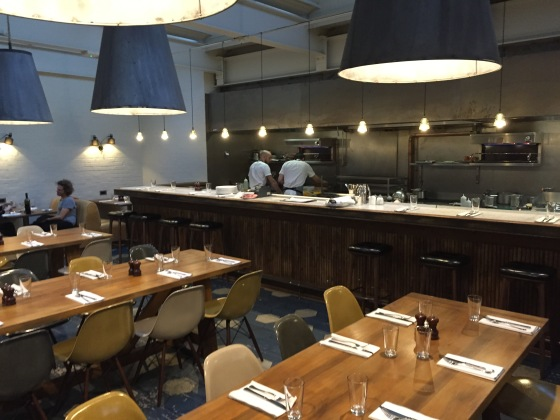 Hubbard & Bell restaurant Hoxton Hotel Holborn